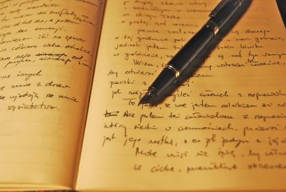 Olovka pise srcem 1