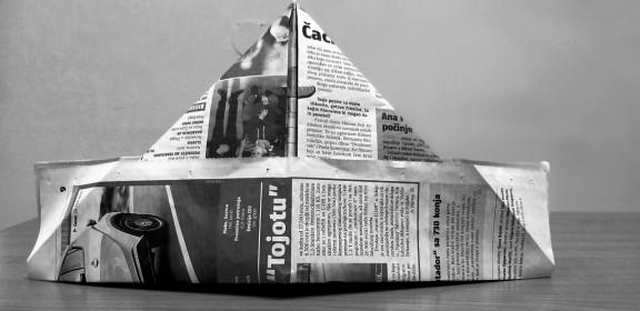 Kapa od novina 1